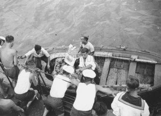 Kriegsmarine  um 1936  Spanischer Buergerkrieg