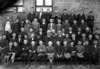 Jungen Schulklasse