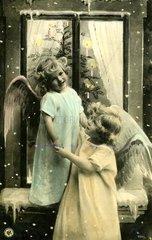 2 Kinder als Engel  1920