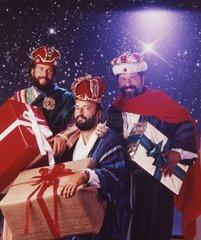Heilige Drei Koenige mit Geschenken