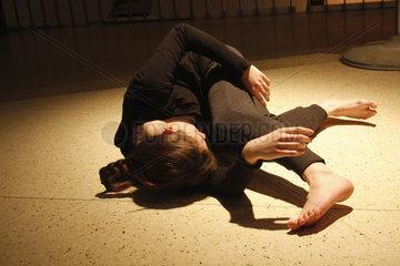 Tanzperformance bei der Transmediale