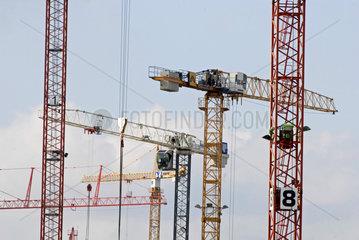 HafenCity im Bau