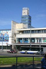 Einkaufszentrum in Riga.