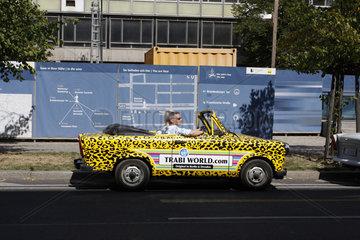Trabi tourism in Berlin