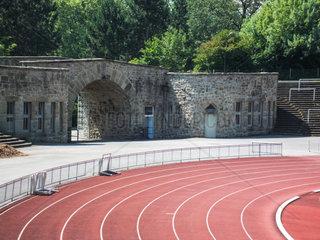 Stadion Rote Erde Suedeingang