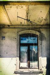 Fenster in einer Ruine