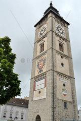 historischer Stadtturm von Enns