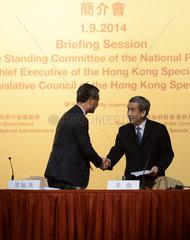 CHINA-HONG KONG-NPC-BRIEFING SESSION (CN)