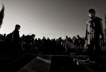 Muslimische Beerdigung