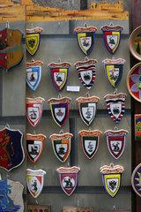 Wappen in Siena