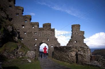 Tintagel Castle  Cornwall