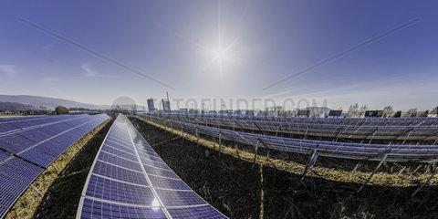 Solaranlage Lothe in Ostwestfalen  Gemeinde Schieder-Schwalenberg