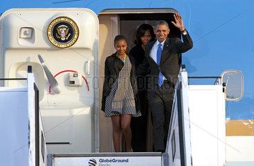 Barack Obama + Tochter Sasha