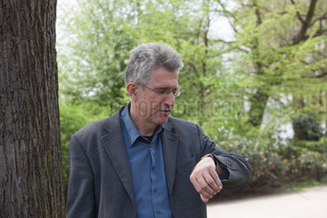 BOETTIGER  Helmut - Portrait of the writer