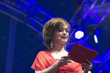 Fest der Freude am Wiener Heldenplatz  Katharina Stemberger