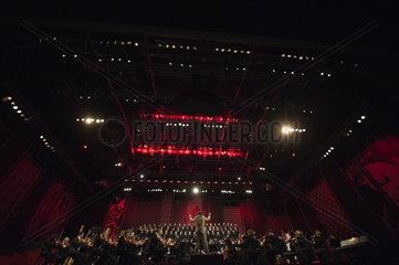 Wiener Festwocheneroeffnung 2014 Cornelius Meister und dem ORF Radio Symphonieorchester Wien