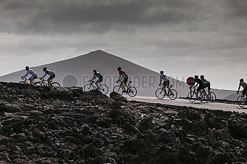 Cyclists - Lanzarote
