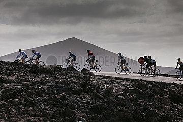 Cyclists - Lanzarote