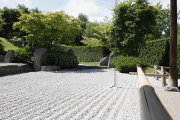 Gaerten der Welt. Japanische Zengarten