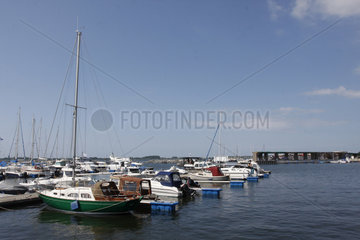 Yachthafen auf Ruegen