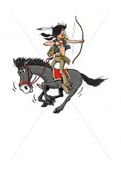 Indianer Reiter
