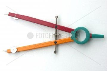 A colored circle