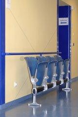 Wartezimmer im Krankenhaus
