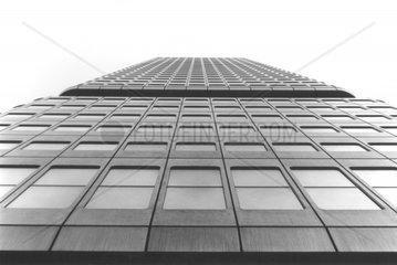 Fassade eines Wolkenkratzer