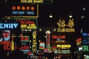 Chinesische Leuchtreklame