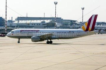 Archivfoto vom 29.03.2014 des am 24.03.2015 ueber Suedfrankreich verunglueckten Airbus A320-211