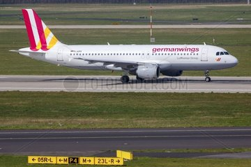 Archivfoto vom 30.03.2014 des am 24.03.2015 ueber Suedfrankreich verunglueckten Airbus A320-211