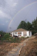 Regenbogen in Andalusien