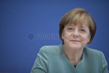 Merkel Press Meeting