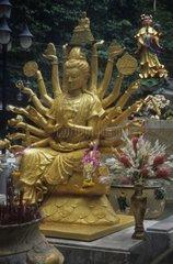 Goldene Statue in Thailand