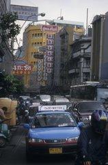 Rush Hour in Bangkok  Thailand