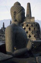 Borobudur  buddhistische Tempelanlage  Java  Indonesien