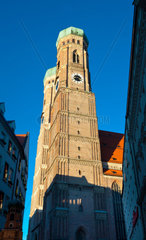 The Church of Our Lady (Frauenkirche) in Munich  Germany  Bavaria