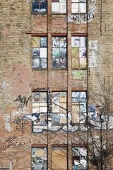 Decayed House  Berlin  Germany