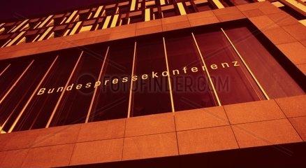 Bundespressekonferenz im Berliner Regierungsviertel  Berlin  Deutschland