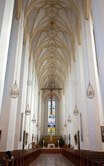 Indoor view of Frauenkirche in Munich  Germany