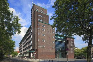 Backstein-Expressionismus und Bauhaus-Stil  Hans-Sachs-Haus in Gelsenkirchen  Ruhrgebiet  Nordrhein-Westfalen