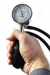 Blutdruckmessgeraet  Hand