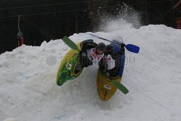 Snow Kajak