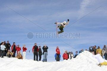 Zac Murphy at Cortina Snowkite Contest 2009