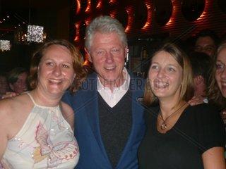 Bill Clinton in Budapest  17 Sept 2007