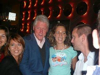Bill Clinton in Budapest  Ungarn  17 Sept 2007