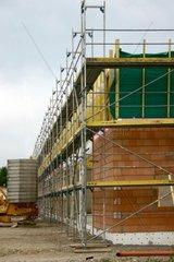 Baustelle im Industriegebiet