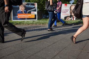 WAHLPLAKAT CDU SPD