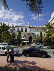 Versace  Villa  Casa Casuarina  Ocean Drive  Miami  Florida