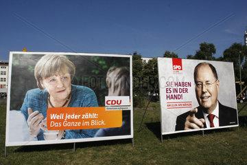 Bundestagswahlkampf 2013